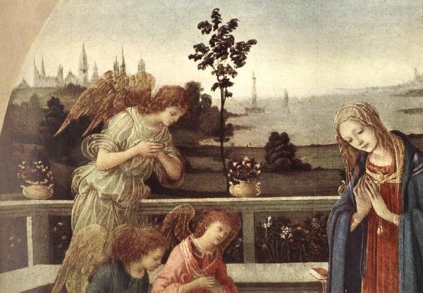 Adoration of the Child 1480 3 detail1